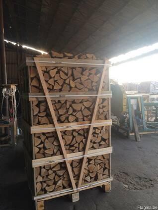 Каминные дрова твердых пород камерной сушки