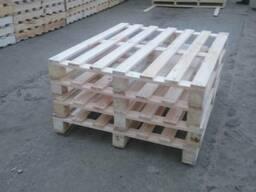 Паллет деревянный 800х1200,1000х1200,600х800 нов. и б/у - фото 2