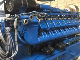 Б/У газовый двигатель MWM TBG 620, 1995 г. ,1 052 Квт. - фото 3