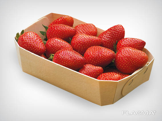 Emballage en placage biodégradable