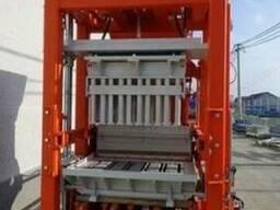 Блок машина для производства тротуарной плитки, бордюров R300 - фото 3