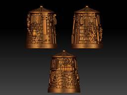 Bronze souvenirs. Statuettes, thimbles, trinkets, keychains. - фото 4