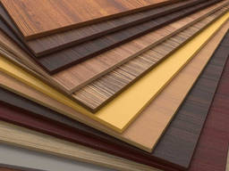 Chipboard (raw and melamine) and plywood panels