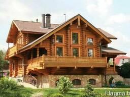Деревянные дома- оцилиндровка, дикий сруб. - фото 4