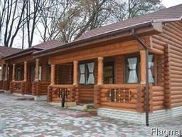 Деревянные дома- оцилиндровка, дикий сруб. - фото 5