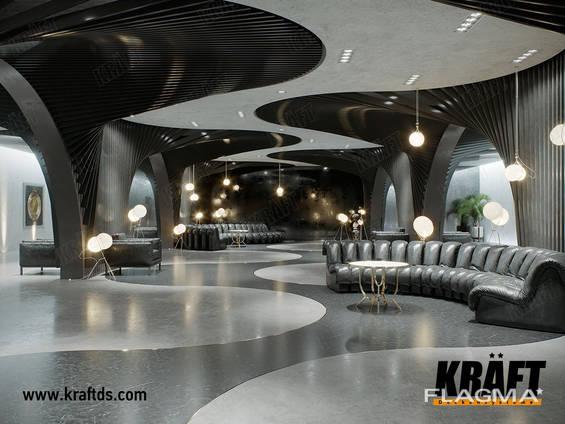 KRAFT designer plafonds suspendus du fabricant
