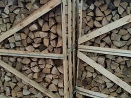 Дрова лиственных пород дуб, граб, береза, техническая сушка