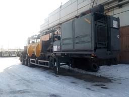 Lefort P514T press with Jonsered R1300 crane (in Russia)