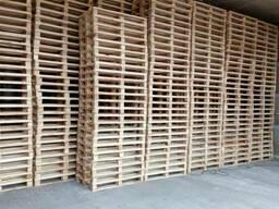 Паллет деревянный 800х1200, 1000х1200, 600х800 нов. и б/у