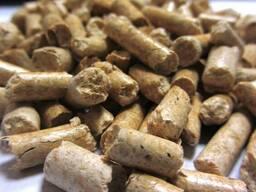 Пеллеты древесные топливные 6 мм сосна Экспорт - фото 1