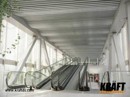 Plafond suspendu en lames stratifiées du fabricant