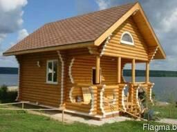 Производим деревянные бани, дома из дерева.