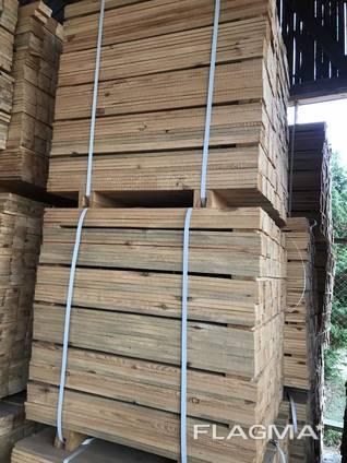 Sell - Sawn Timber (pine) 22х100-145х800-1000-1200