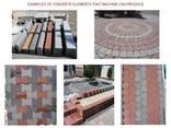 Блок-машина для производства тротуарной плитки R-500 Эконом - фото 7