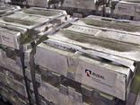 Primary A-7 Aluminum, GOST Aluminum ingot Первичный алюминий - фото 1
